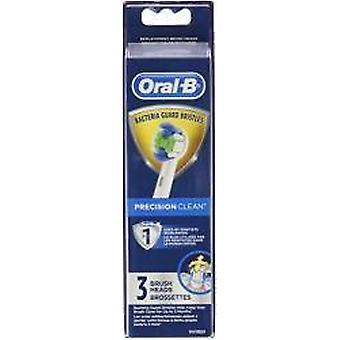 Oral-B Precision Clean Elektrisk Tandborste Ersättning Borsthuvuden, 3 Antal