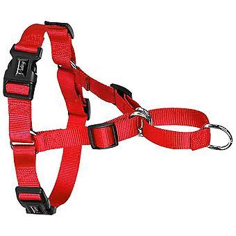 אין רתמת כלב משיכה אין כלבים אימון חנק רותמים קדמי הידוק להפסיק משיכת רתמה (אדום)