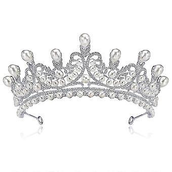Koruna tiara drahokamu s diamantovou korunou