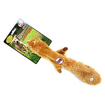 """Spot Skinneeez Plush Squirrel Dog Toy - 20"""" Long"""