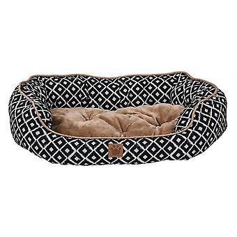 """Precision Pet Ikat Snoozzy Daydream Pet Bed Navy - 32"""" x 25"""""""
