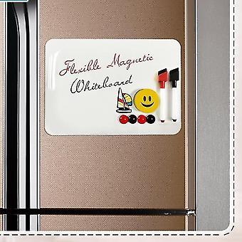 Dry-erase boards flexible fridge magnetic kids refrigerator drawing white board
