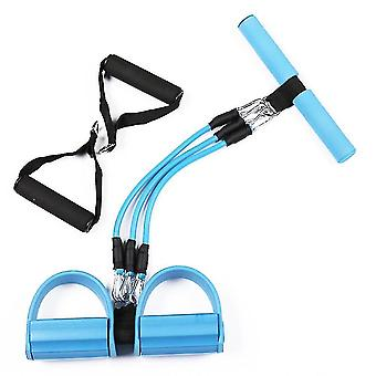 Exercise bands fast fitness weight loss multifunctional puller 26x50cm blue