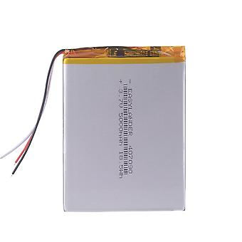 3.7v 5000mah 407090 Polymer Lithium Ion Battery Rechargeable Batteries