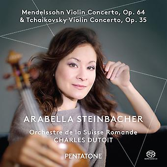 Mendelssohn / Steinbacher / Orchestre De La Suisse - Violin Concertos [SACD] USA import