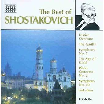 D. Shostakovitshin - Best of Šostakovitš [CD] USA-tuonti