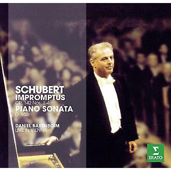 Schubert - Erato Story-Piano Sonata 21 & 4 Impromptus [CD] USA import