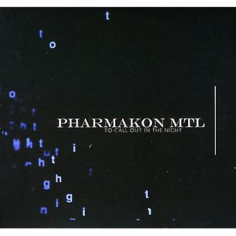 Pharmakon Mtl - To Call Out in the Night [CD] USA import