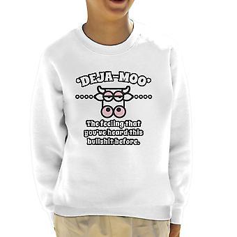 Sweatshirt de deja Moo Kid