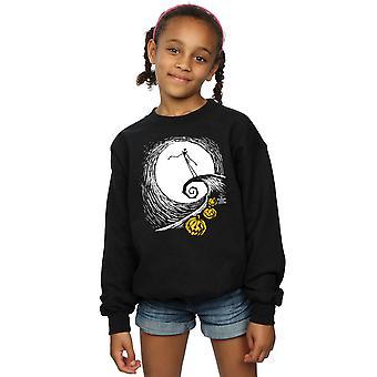 Disney Girls Nightmare Before Christmas Jack's Lament Sweatshirt