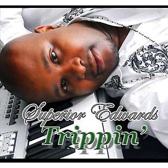 Superior Edwards - Trippin' [CD] USA import