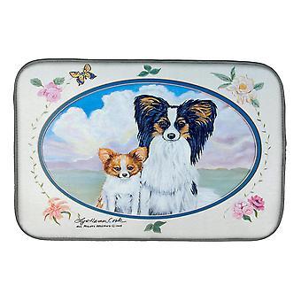 Carolines Treasures  7243DDM Papillon  Dish Drying Mat
