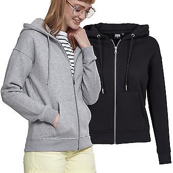 Urban classics ladies - BASIC fleece Zip Hoody