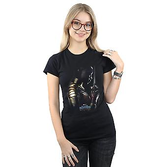 Förundras över kvinnors Svart panter Okoye affisch T-Shirt