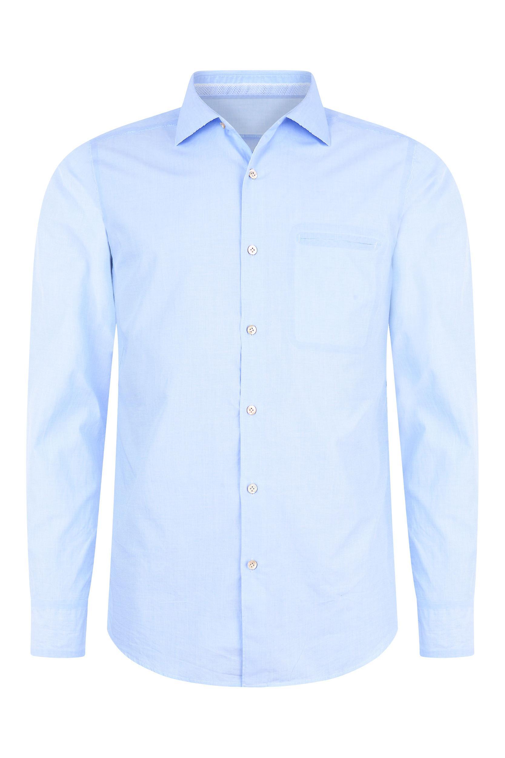 Fabio Giovanni San Sabino Shirt - Mens Luxury Italian Blue Cotton Shirt