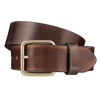 Timberland bälten mäns bälten läder jeans bälte brunt 3968
