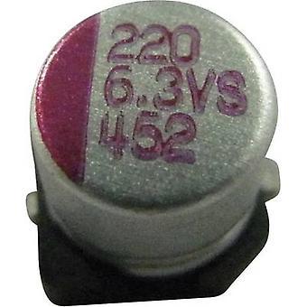 Teapo PVS337M004S0ANEA1K elettrolitici Condensatore SMD 330 µF 4 V 10% (Ø x H) 6,3 x 5,8 mm 1/PC