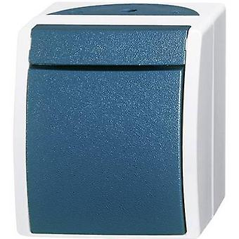 Busch-Jaeger 2601/6 W-53 Wet room switch product range Toggle switch Ocean (surface-mount) Blue, Green