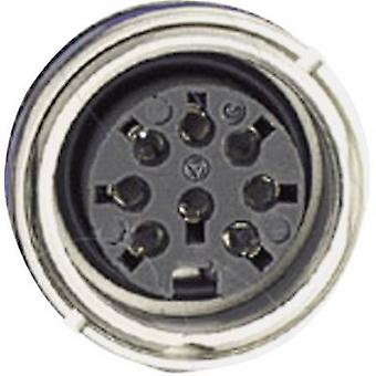 Amphenol C091 31N004 100 2 Circular Connector Nominal current (details): 5 A Number of pins: 4 DIN
