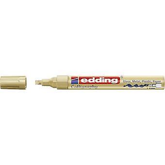 Edding 4-755053 E-755 Farbmarker Gold 1 mm, 4 mm 1 Stück/Packung
