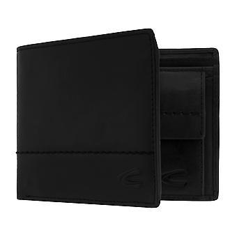 Sac à main camel active mens wallet portefeuille avec puce RFID protection noir 7386
