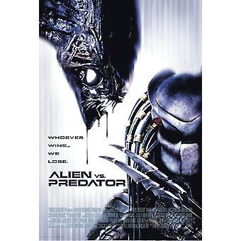 Alien vs. Predator poster wie wint... we verliezen 101,5 x 68,5 cm