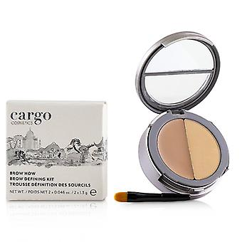 Cargo Double Agent Concealing Balm Kit - # 5n - 2.7g/0.095oz