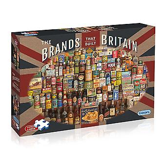 Gibsons The Brands That Built Britain Jigsaw Puzzle (500 XL Pieces)