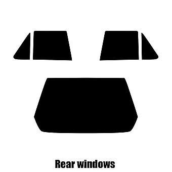 Pre cut window tint - Renault R11 5-door Hatchback - 1983 to 1989 - Rear windows