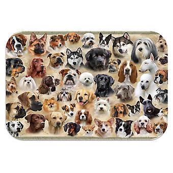 Tuftop mediu texturat Worktop Saver, rase de câine 40 x 30cm