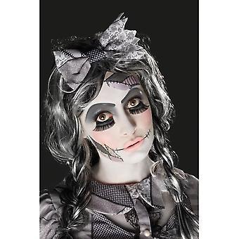 Повреждены Kit Кукольный макияж, черный