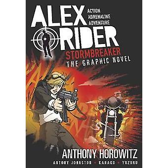 Powieść graficzna Stormbreaker przez Anthony Horowitz - Antony Johnston - Ka