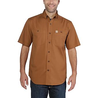 Carhartt men's short sleeve rugged Flex Rigby short-sleeve work