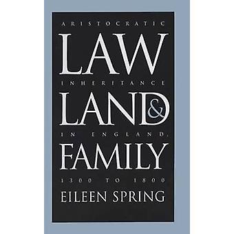 Gesetz - Land- und Familie - aristokratischen Erbe in England - 1300 t
