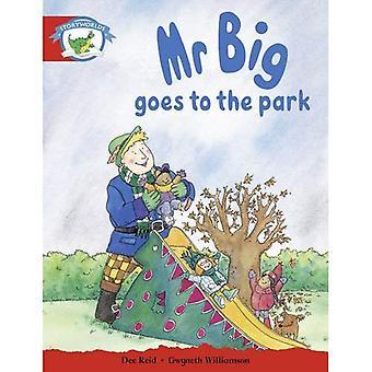 Läs-och skrivkunnighet upplagan Storyworlds etapp 1, Fantasy World, herr stora går till parken: läsare