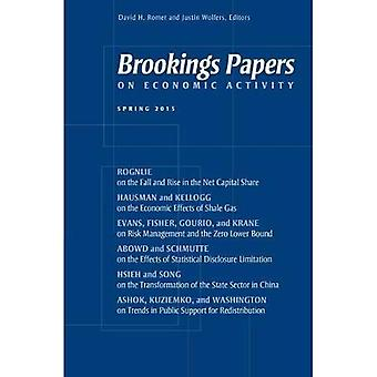 Brookings Papers on Economic Activity: Spring 2015
