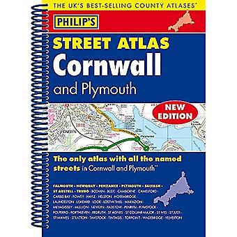 Philip's Street Atlas Cornwall and Plymouth: Spiral Edition (Philip's Street Atlases)