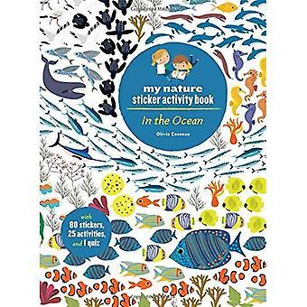 Dans l'océan: mon cahier d'activités de Nature autocollant