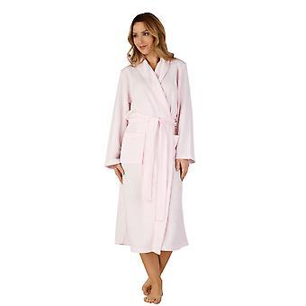 Slenderella HC3301 nők ' s szőtt Pink Robe loungewear fürdő öltöző ruha