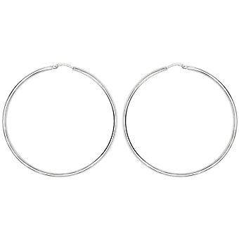 Bella 15mm Hoop Earrings - Silver