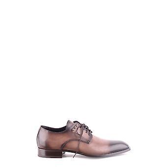 Cesare Paciotti Ezbc112004 Men's Brown Leather Lace-up Schoenen