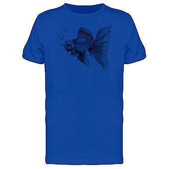 Goldfisch T-Shirt Herren-Bild von Shutterstock
