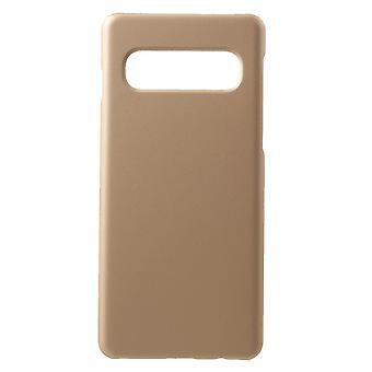 Samsung Galaxy S10 Powłoka w twardym plastiku - Złoto