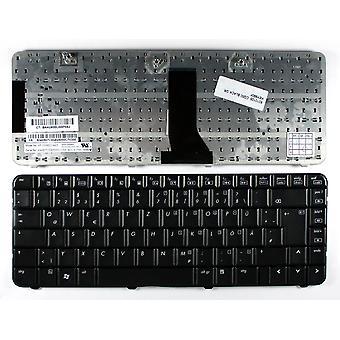 Compaq Presario CQ50 101EB 黒のドイツ語のレイアウトの交換ノート パソコンのキーボード