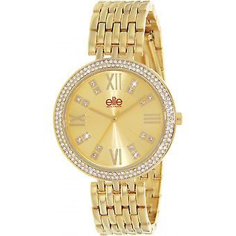 Elite E54884-102 - watch steel gold woman