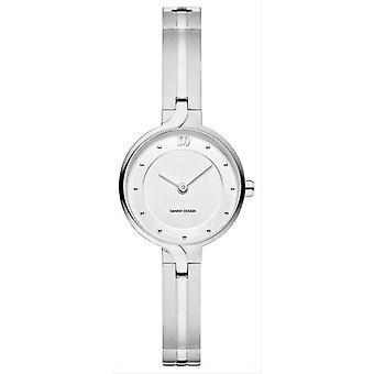 Danish Design Chic Iris Watch-Silver/Grey