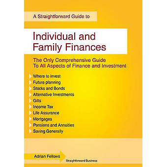 Individual and Family Finances - A Straightforward Guide by Adrian Fel