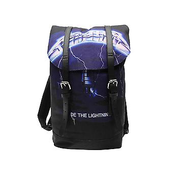 Metallica Sac heritage Bag Ride The Lightning Band Logo nouveau noir officiel