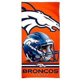 Wincraft NFL Denver Broncos 3D Beach Towel 150x75cm