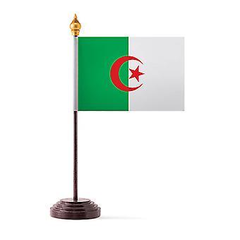 Algeria taulukon lippu kiinni ja pohja